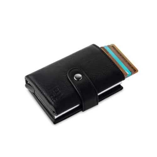ארנק click  – שילוב לחצן כרטיס אשראי וארנק קלאסי 8607