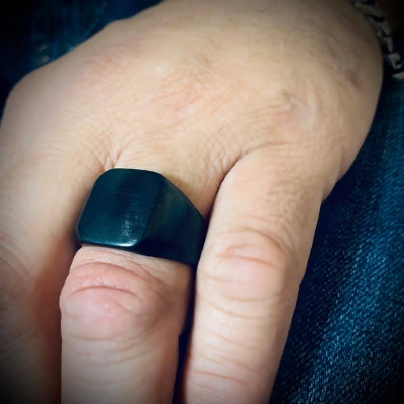 טבעת חותם לגבר הרן אנד דאמן