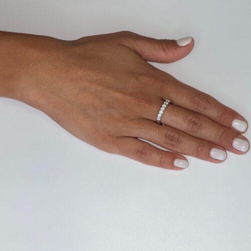 טבעת כסף S925 לונדון