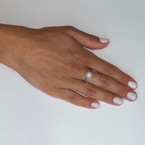 טבעת כסף דגם שובל