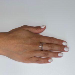 טבעת כסף מסמר