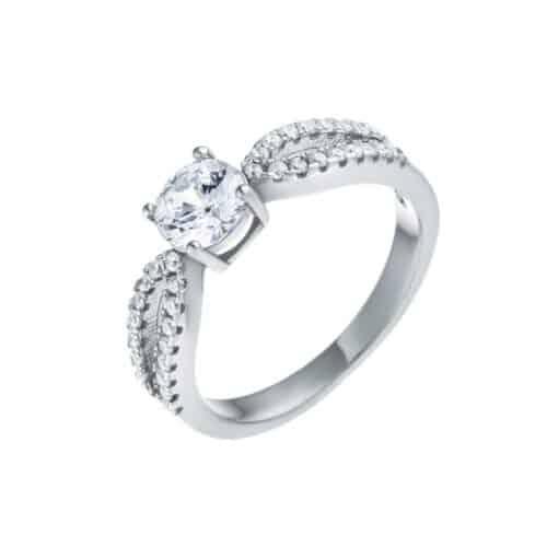 טבעת כסף s925 אנגל