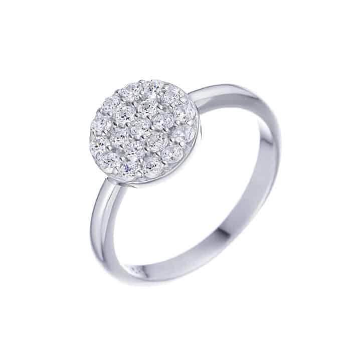 טבעת כסף עיגול מלא