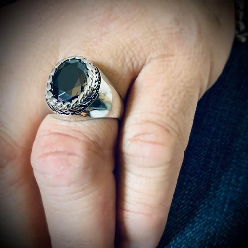 טבעת יהלום לגבר הרן אנד דאמן