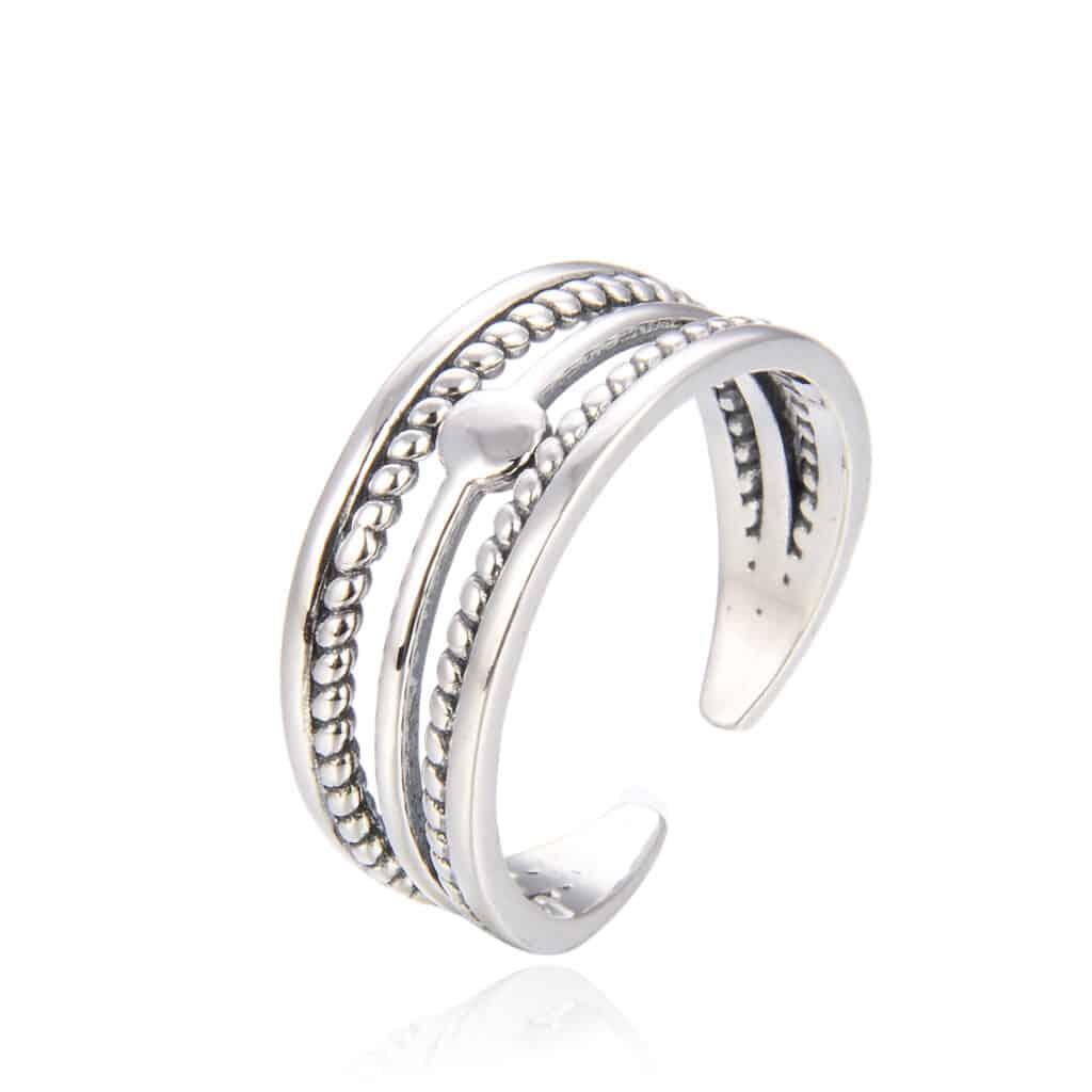 טבעת כסף 925 אספירד
