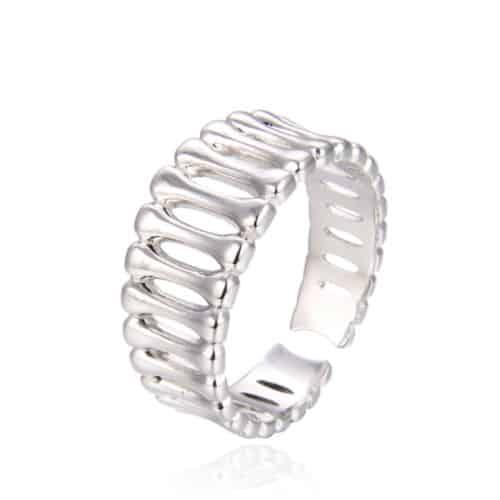 טבעת כסף 925 בארס