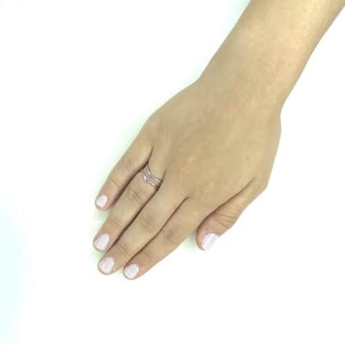 טבעת כסף 925 ג'נטל