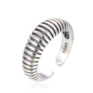 טבעת כסף 925 טולוז