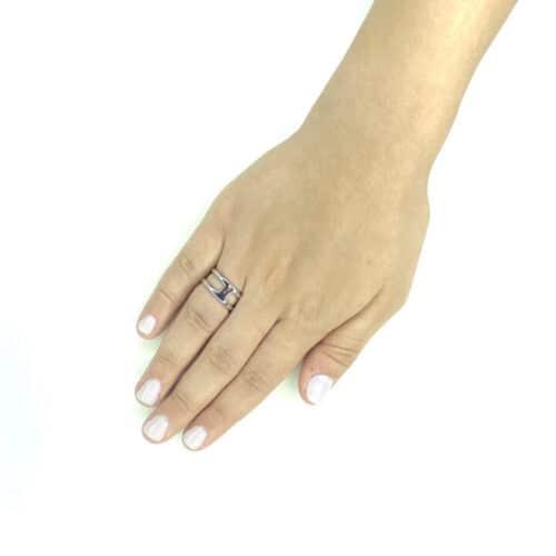 טבעת כסף 925 לני