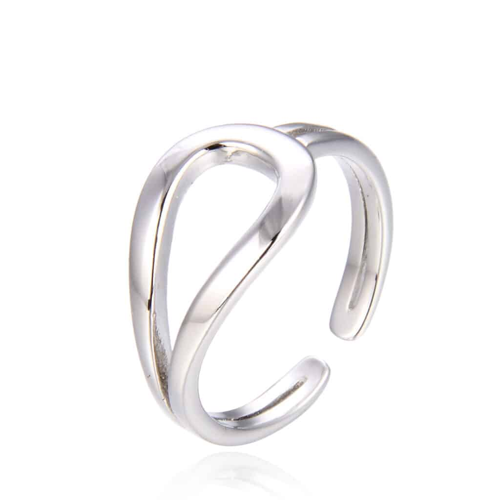 טבעת כסף 925 מרקל