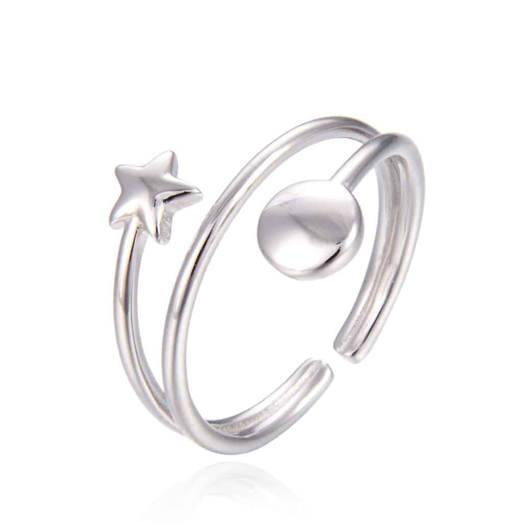 טבעת כסף 925 סטאר