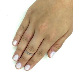 טבעת כסף 925 קויל