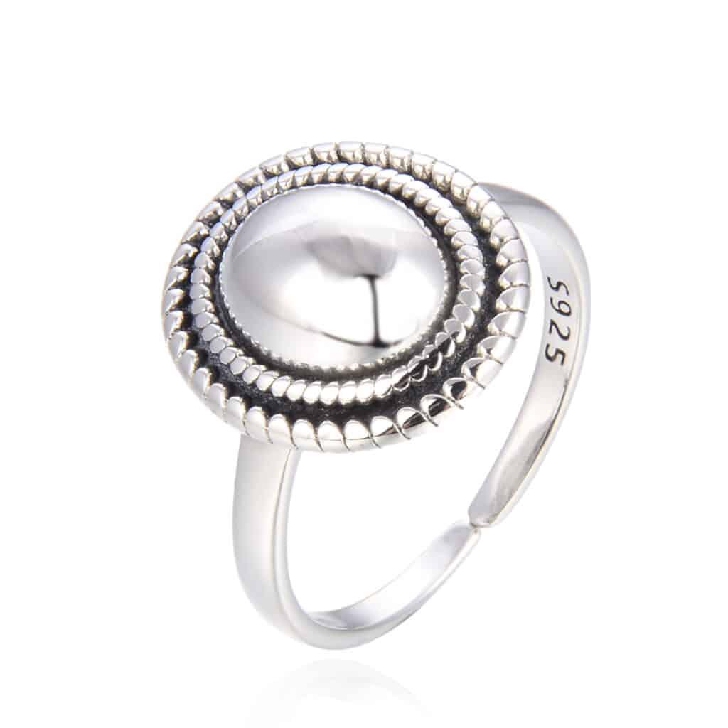 טבעת כסף 925 רויאלטי