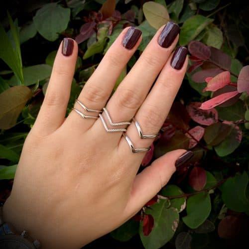 טבעת כסף 925 ברלין