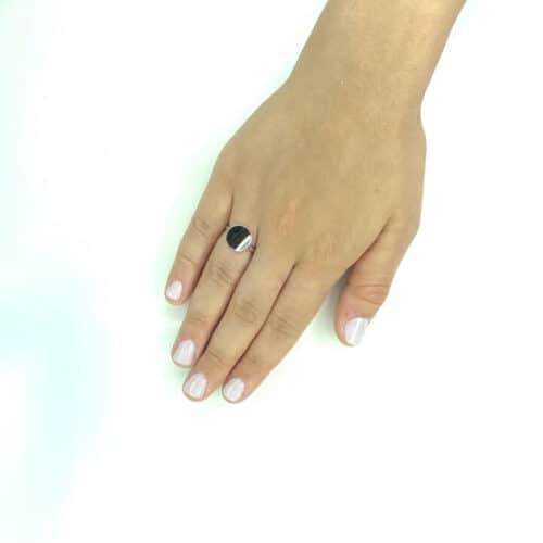 טבעת כסף 925 קלייר