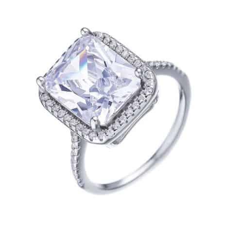טבעת כסף 925 סופיה