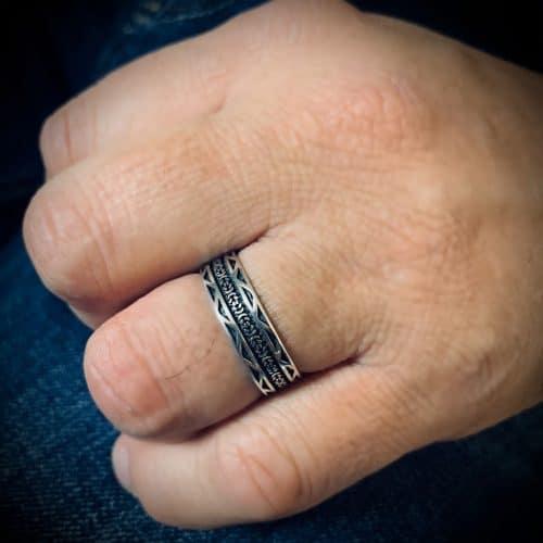טבעת כסף 925 מרקש