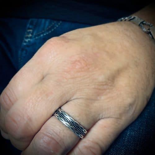 טבעת כסף 925 ריו
