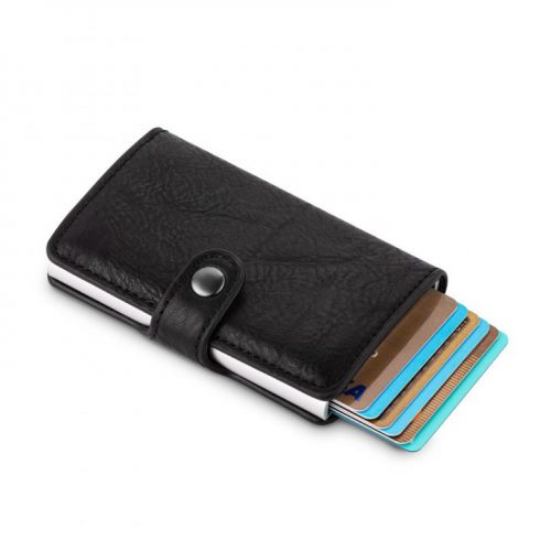 קליק ארנק כרטיסי אשראי עם חריטה אישית