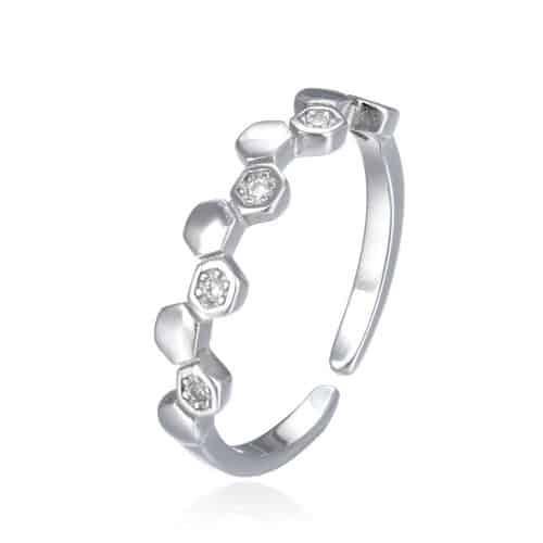טבעת כסף 925 שיינה
