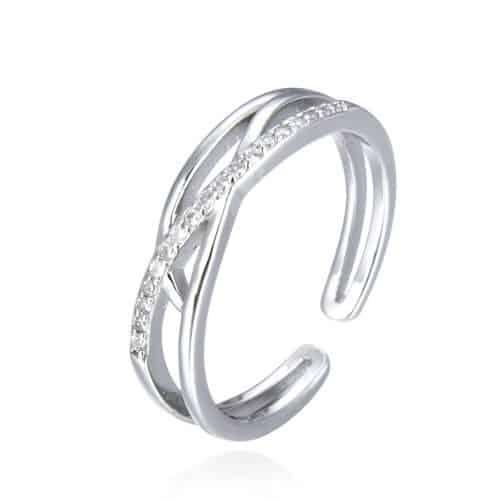 טבעת כסף 925 סול