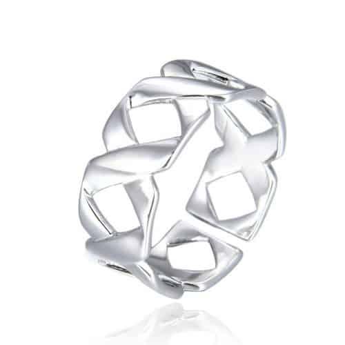 טבעת כסף 925 רנה