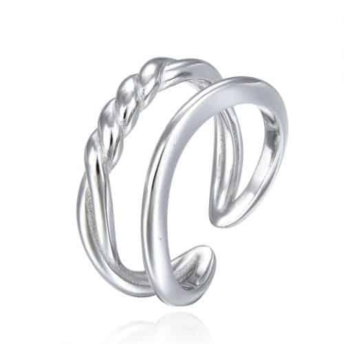 טבעת כסף 925 תאי