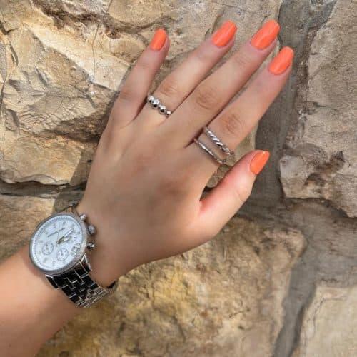טבעת כסף 925 קיילה