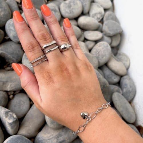 טבעת כסף 925 ניה