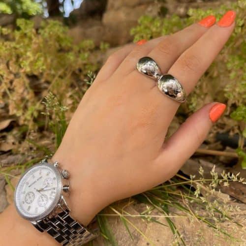 טבעת כסף 925 מנדי