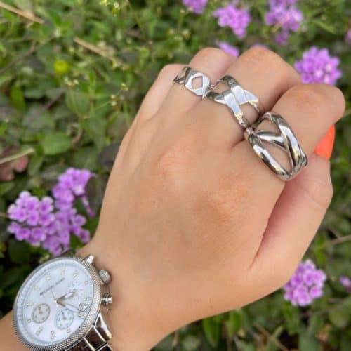 טבעת כסף 925 מלודי