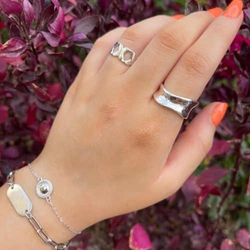 טבעת כסף 925 מאיה
