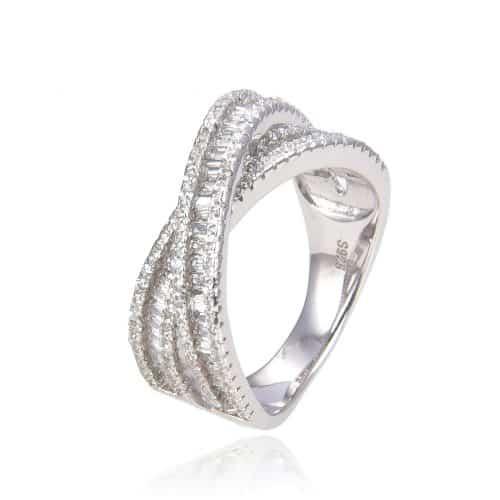 טבעת כסף 925 מירלה