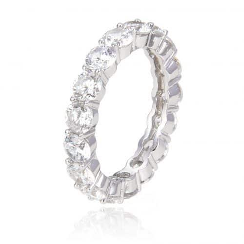 טבעת כסף 925 פורמה גדולה